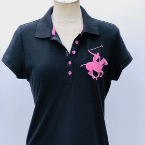 Beverly Hills Polo Club Rugby Polo Shirt